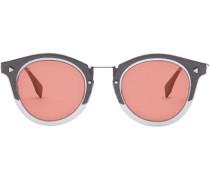 Runde Sonnenbrille mit FF-Logo