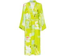 Kimono mit Schwanen-Print