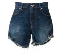 Shorts mit seitlichem Umschlag