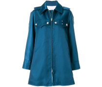 Oversized-Mantel mit aufgesetzten Taschen