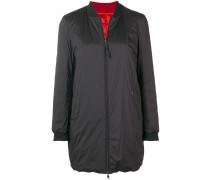 reversible oversized bomber jacket
