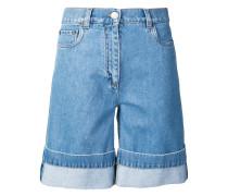 Shorts mit umgeschlagenem Saum