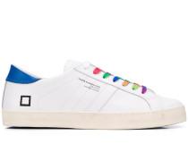 D.A.T.E. contrast lace sneakers