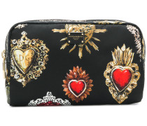 Sacred Heart printed pouch