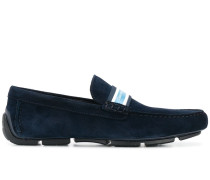 logo strap loafers