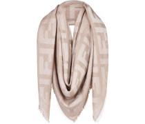 Quadratischer Schal mit FF-Muster