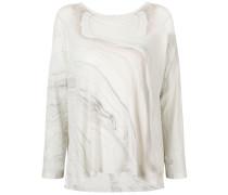 Pullover mit Marmor-Effekt