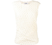 ruched crocheted top