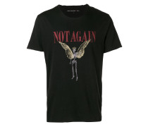 "T-Shirt mit ""Not Again""-Print"