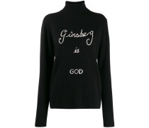 'Ginsberg Is God' Pullover
