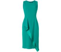 sleeveless wrap front dress