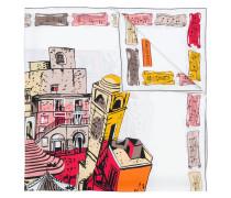 """Seidenschal mit """"Capri""""-Print"""