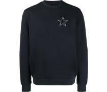 Sweatshirt mit aufgesticktem Stern