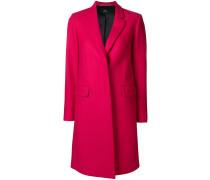 tailored midi coat