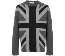 Pullover mit Großbritannien-Fahne