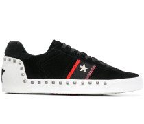 stud embellished sneakers