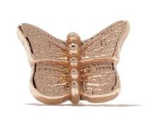 14kt 'Butterfly' Rotgoldohrstecker