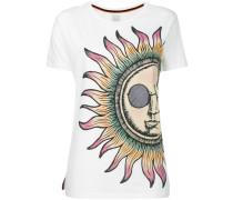 sun print T-shirt