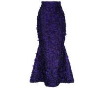 'Violeta' Brokatrock mit ausgestelltem Saum