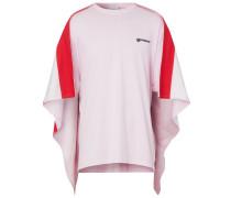 Oversized-T-Shirt mit Cape