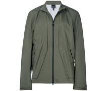 zipped waterproof jacket