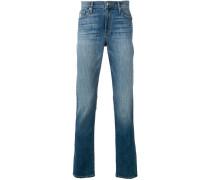 Ausgewaschene Skinny-Jeans