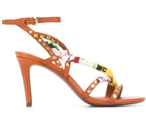 Sandalen mit Schaldetail