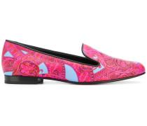 Baroccoflage print loafers