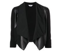 cropped waterfall jacket
