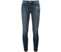 Halbhohe Super-Skinny-Jeans