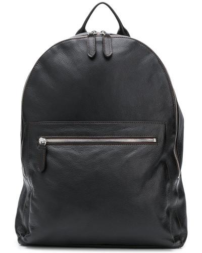 Rucksack aus gekörntem Leder