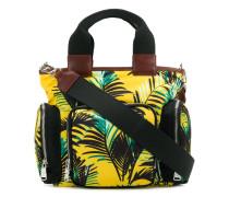Handtasche mit Palmen-Print