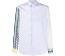 Gestreiftes Hemd mit Anagramm