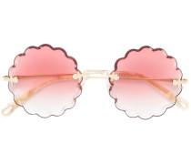 Rosie flower shaped sunglasses