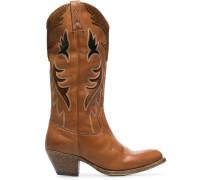 Kniehohe Cowboy-Boots