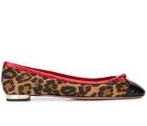 Ballerinas mit Leoparden-Print