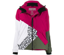 Steppjacke in Colour-Block-Optik