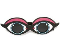 Sonnenbrille mit Augendesign