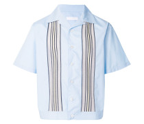 textured stripe board shirt