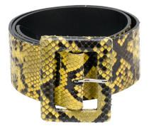 Gürtel aus Pythonleder