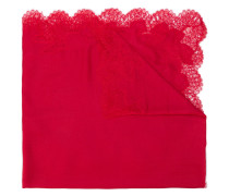 tonal lace shawl