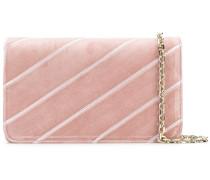 diagonal clutch bag