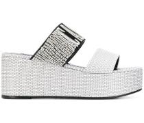 'Logomania' Plateau-Sneakers