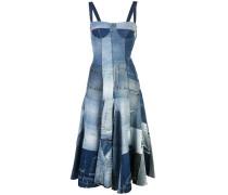 Kleid im Patchwork-Look