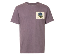 T-Shirt mit Rosen-Patch