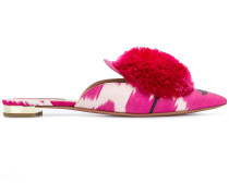 'Powder Puff Ikat' Mules