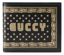 Portemonnaie mit Guccy-Print