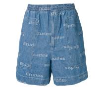 'Verite' Jacquard-Shorts