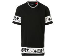 T-Shirt mit DG Stern-Print