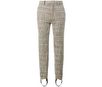 Tapered-Hose mit Hahnentrittmuster